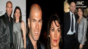 Zinedine Zidane's wife Veronique Zidane