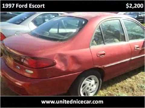 Winston Salem Escorts >> 1997 Ford Escort Used Cars Winston Salem Nc