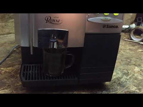 Чистка кофемашины от жиров таблеткой Puly Caff