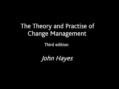 Author John Hayes talks about the key features of The Theory & Practice of Change Management 3e