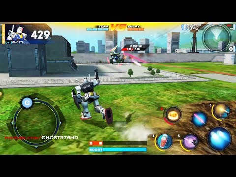 Gundam Battle FIRST LOOK GAMEPLAY ANDROID MAX SETTING AWSOME
