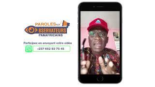 PAROLES AUX OBSERVATEURS PANAFRICAINS DU 19 02 2019