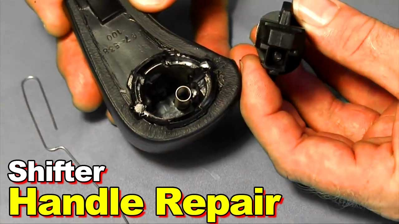 How To Repair  Replace A Broken Or Stuck Shifter Shift Handle Button Knob On 20032006 Honda