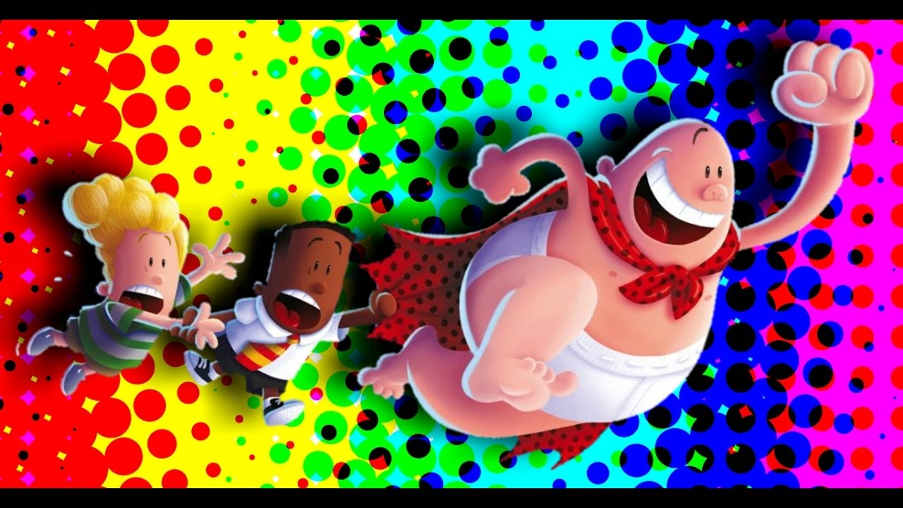 Captain Underpants Full Color Youtube