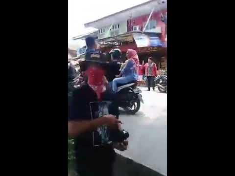 Shooting uang kaget di kec Sukatani kab Bekasi