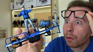 EACHINE E019 - Il Drone di ACTION MAN con PARACADUTE! - Recensione ITA