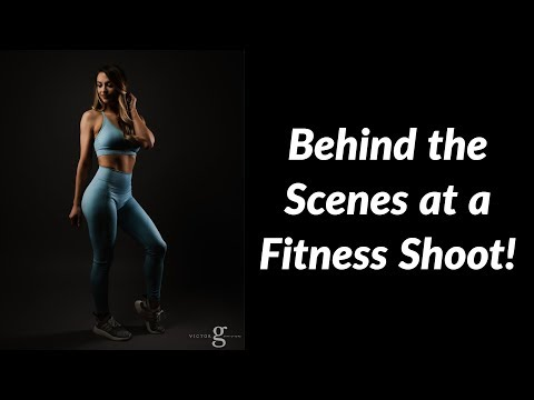 Another Behind the Scenes Fitness Photoshoot Tutorial thumbnail