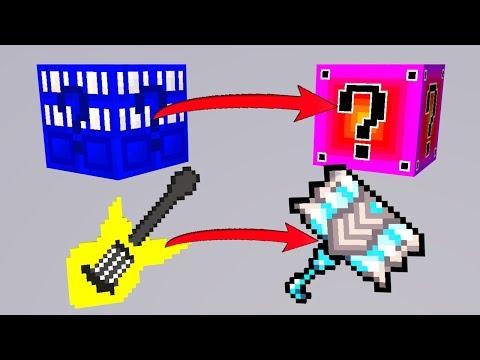 TIMEMACHINE = FADE LUCKY BLOCKS | Minecraft LUCKY RUSH