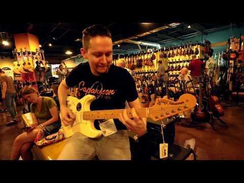 Carter Vintage Guitars in Nashville, TN | Summer NAMM 2018