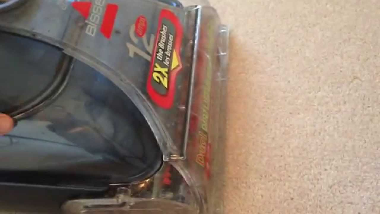 bissell proheat 2x pet deep cleaner manual how to use [ 1280 x 720 Pixel ]