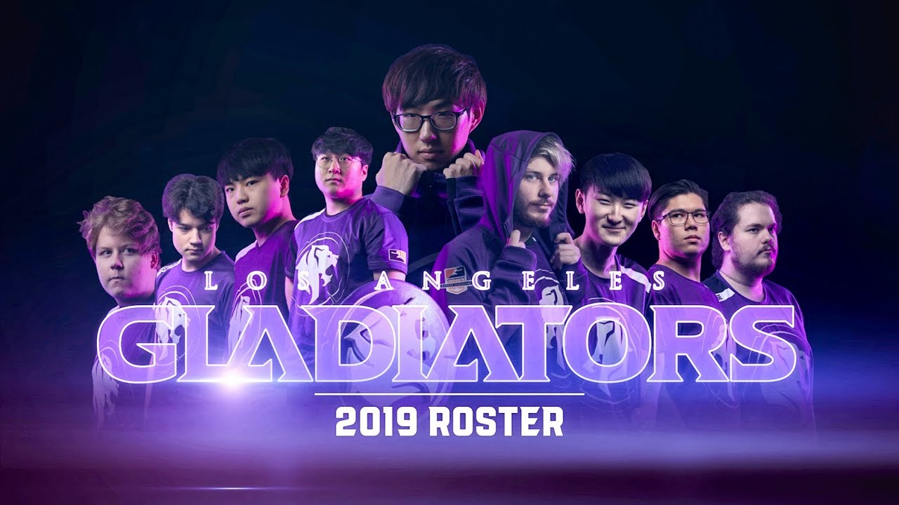 Los Angeles Gladiators 2019 Roster Youtube