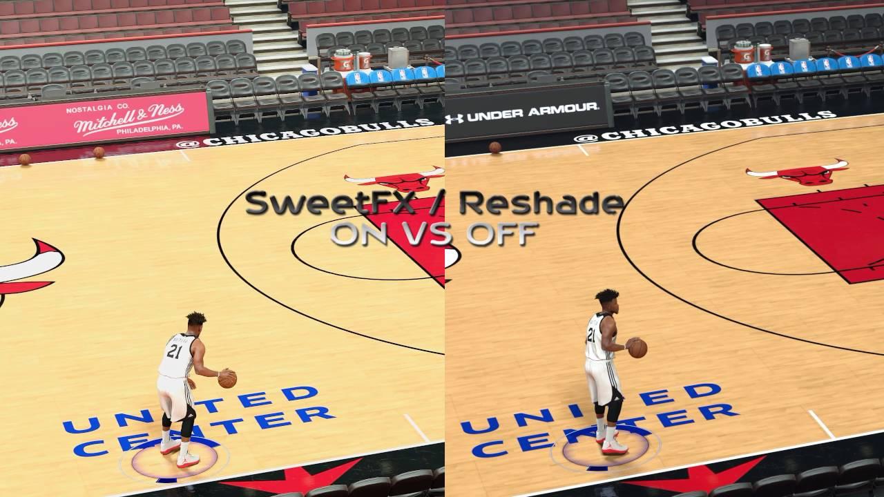 NBA 2k17 - gameplay PC – SweetFX graphics mod - Crystal Sharp ... NBA 2k17 - gameplay PC – SweetFX graphics mod - Crystal Sharp - Windows 10  - YouTube