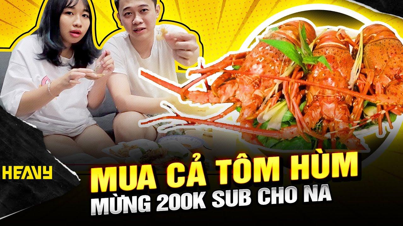 Phú Đại Troll Vợ Bằng Tôm Hùm Siêu To Khổng Lồ ? Ăn Mừng 200k sud | HEAVY PHÚ ĐẠI