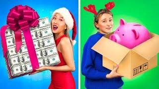 كريسماس غني ضد كريسماس مفلس.