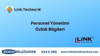 Techno - Link TechnoIK   Personel Yonetimi Ozluk Bilgileri - 2000bs