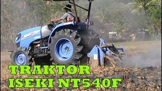 Download Video Traktor Pembajak sawah ISEKI NT540F #Cara Mecangkul sawah dengan mudah MP3 3GP MP4