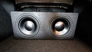 TESTING MY CAR SUBWOOFERS!