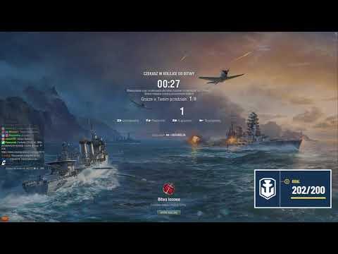 """Rozgrzewka przed pogadankowym """"World of Warships"""" o 19:00 #ad"""