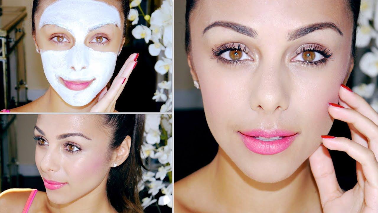 Minimalistic Fresh-Face Makeup! ♥ - YouTube