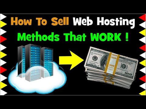 Generate Leads: Why WEB HOSTING Is The Best Thing To Sell as Affiliate or Reseller