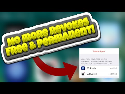 New Way To Stop Apps From Crashing On IOS 11/10/9! NO PC/JB! FREE! NO MORE REVOKES!