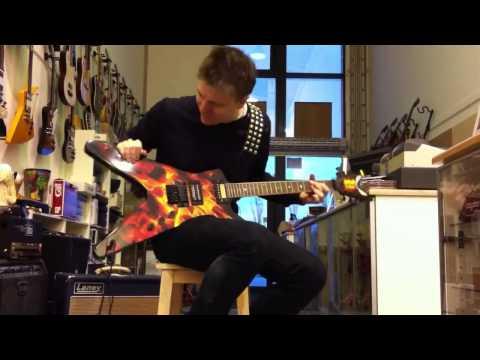 Jazz On Heavy Metal Guitar by Steffen Brix
