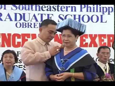 USEP – Masters & Doctorate Degree Batch 2006 – Graduation Ceremony – Part 2
