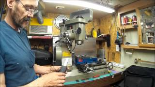 harbor freight t5980 mill drill lathe dro upgrade part 1