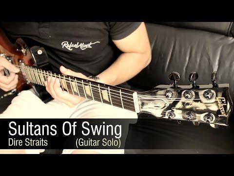 Dire Straits - Sultans Of Swing - Guitar Solo Rafael Alves