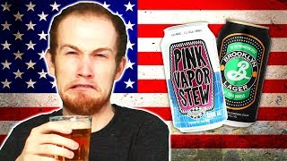 Irish People Try American Craft Beers