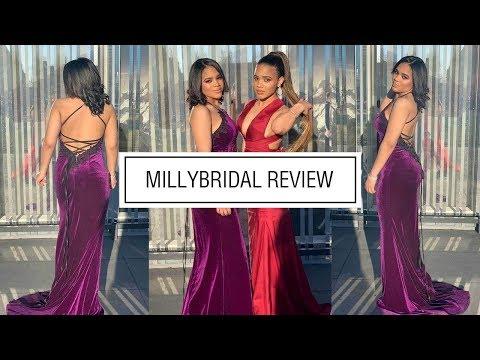 prom-dresses-|-modest-long-mermaid-halter-velvet-lace-open-back-grape-dress---millybridal-review