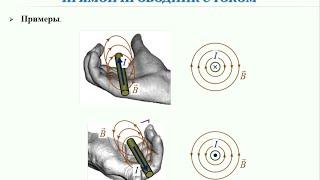 Презентация. 10 класс. V.1. Магнитное поле