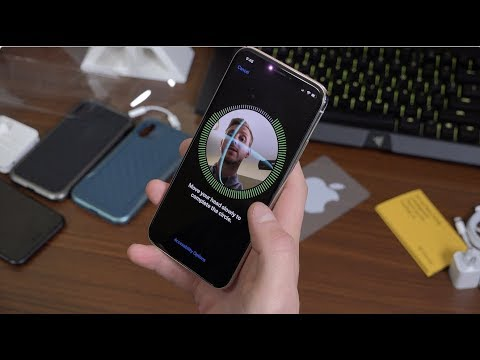 iPhone X Face ID Setup and Testing!