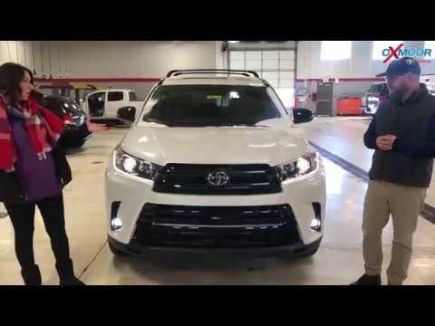 2019 Toyota Highlander Se Awd Nightshade Edition For Sale Oxmoor