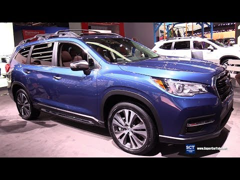 2019 Subaru Ascent Touring - Exterior and Interior Walkaround - 2019 Detroit Auto Show