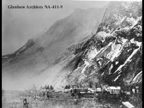 1903: 90 seconds of terror in the Frank rockslide (CBC 2003)