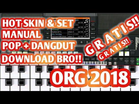 DOWNLOAD HOT SKIN & SET MANUAL DANGDUT + POP ORG 2018 2019 GRATIS