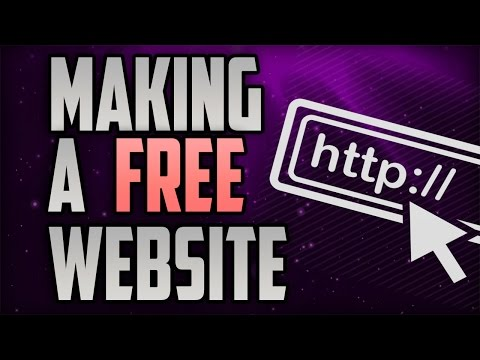 How To Make Free Website With Free Domain Name Part Hd