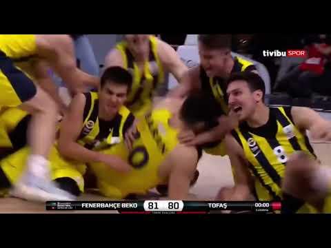 Öğrencimiz Baran Arslan'ın Son Saniye Basketi ile Şampiyonluğa Uzanan Fenerbahçe