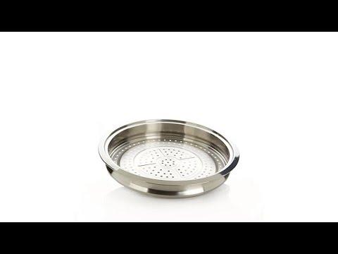 Curtis Stone Durapan Nonstick 12 Multipurpose Pan W Rac