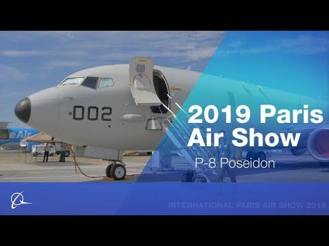 P-8 Poseidon at 2019 Paris Air Show