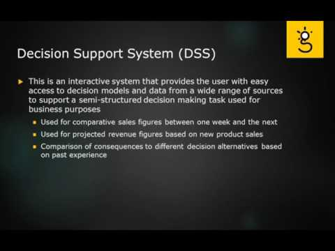 17. Decision Suport Sys DSS and Supply Chain Management SCM