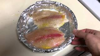 Готовим рыбу в духовке. ( How to make tilapia in the oven.)