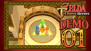 The Legend of Zelda: Triforce Heroes | Demo - Part 1
