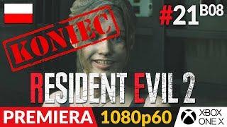Resident Evil 2 PL - Remake 2019  #21 (#8 Koniec Claire B)  Pełne - prawdziwe zakończenie