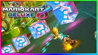 Respect or nah, Pink Gold Peach | Mario Kart 8 Deluxe Gameplay