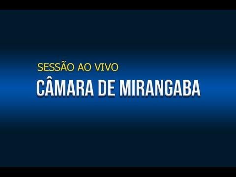 SESSÃO CÂMARA DE MIRANGABA 12/11/2019