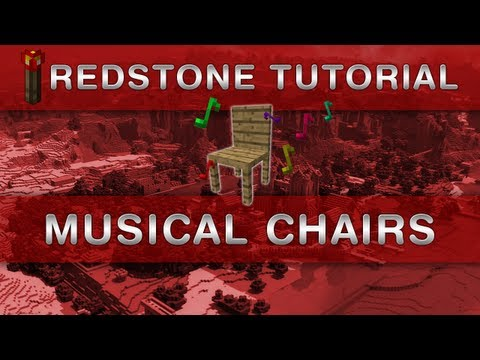 Minecraft: Musical Chairs for MC 1.6.2 (Redstone Tutorial)