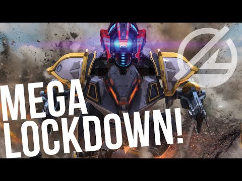 War Robots - MEGA Lockdown With Mercury Helldive | Mercury Gameplay