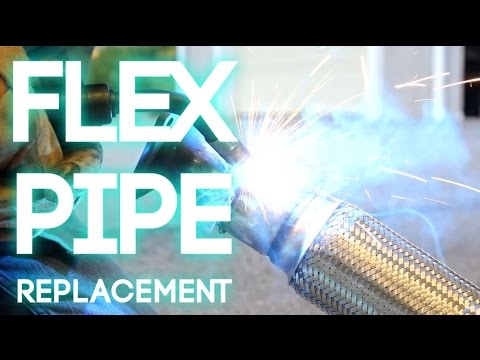 How To Replace a Flex Pipe
